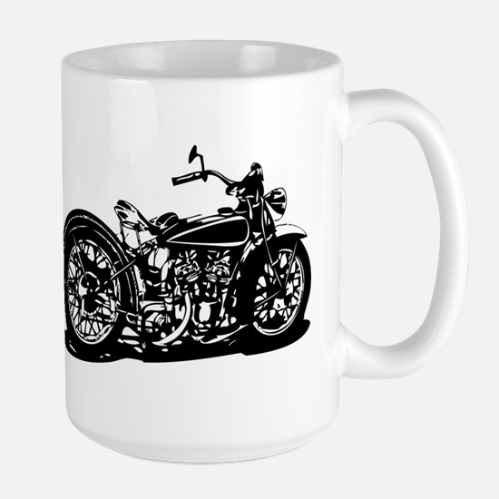Vintage Motorcycle Mugs