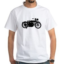 Vintage Motorcycle Silhouette T-Shirt