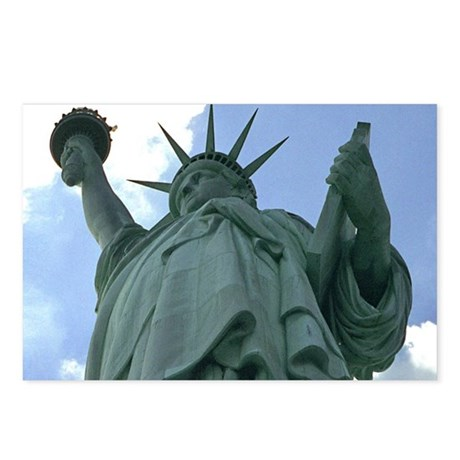 Statue of Liberty - post cards (Package of 8)