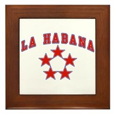 La Habana All Stars Framed Tile