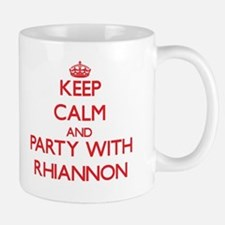 Keep Calm and Party with Rhiannon Mugs