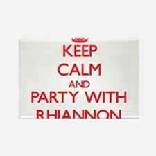 Keep Calm and Party with Rhiannon Magnets