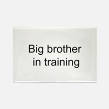 Big brother in training Rectangle Magnet