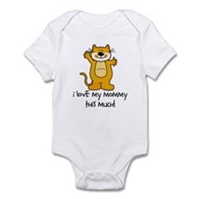 I Love My Mommy This Much! Infant Bodysuit