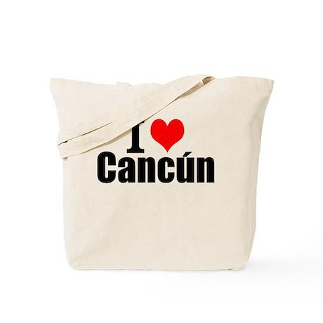 I Love Cancún Tote Bag