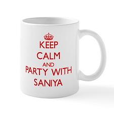 Keep Calm and Party with Saniya Mugs
