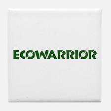 """Ecowarrior"" Tile Coaster"