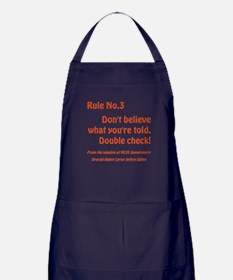 RULE NO. 3 Apron (dark)