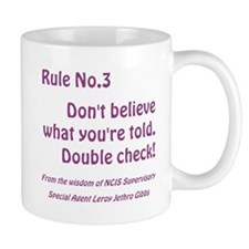 RULE NO. 3 Small Mug