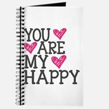 You Are My Happy Love Journal