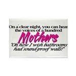 100 Mothers Rectangle Magnet
