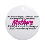 100 Mothers Ornament (Round)