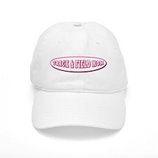 Track & Field Mom Baseball Cap