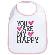 You Are My Happy Love Bib