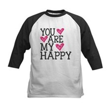 You Are My Happy Love Baseball Jersey