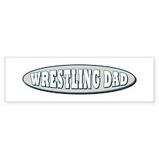 Wrestling Dad Bumper Bumper Sticker
