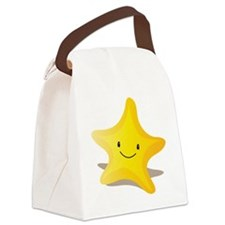 Single starfish smiling Canvas Lunch Bag