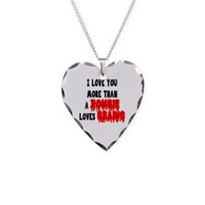 More Than A Zombie Loves Brains Necklace