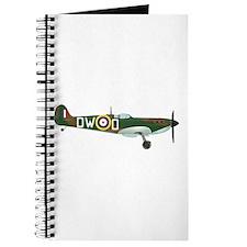 Cute Raf spitfire fighter plane Journal