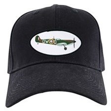 Cute Raf spitfire fighter plane Baseball Hat