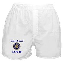 coast guard dad Boxer Shorts