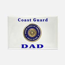 coast guard dad Rectangle Magnet