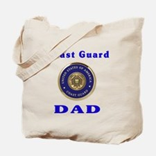 coast guard dad Tote Bag