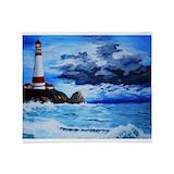 Lighthouse Fleece Blankets