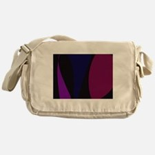 Abstract Night Messenger Bag
