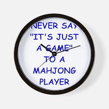 MAHJONG Wall Clock