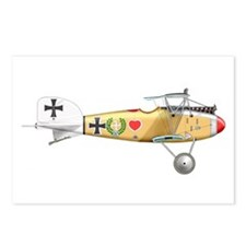 Cute Fighter pilot Postcards (Package of 8)
