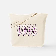 Diamond 80th Tote Bag