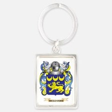 McGovern Coat of Arms - Family C Portrait Keychain