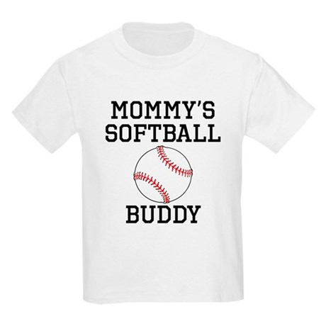 Mommys Softball Buddy T-Shirt