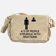 Math Humor Messenger Bag