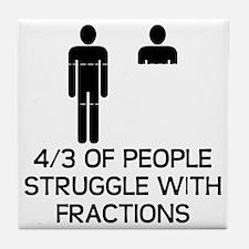 Math Humor Tile Coaster