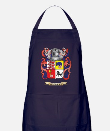 McGrath Coat of Arms - Family Crest Apron (dark)
