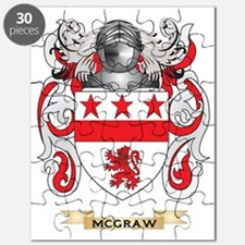McGraw Coat of Arms - Family Crest Puzzle