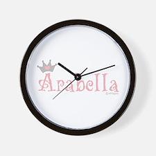 Onederful Arabella (1) Wall Clock