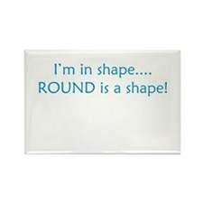 In Shape Rectangle Magnet