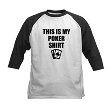 This Is My Poker Shirt Baseball Jersey