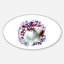 Sealy Patriot Oval Decal