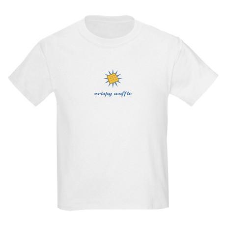 Crispy Waffle Kids Light T-Shirt