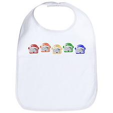Rainbow Toaster Bib