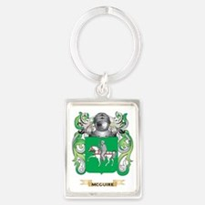 McGuire Coat of Arms - Family Cr Portrait Keychain
