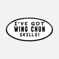 Wing chun Skills Designs Patches