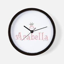 Onederful Arabella (4) Wall Clock