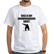 This Is My Snowboarding Shirt T-Shirt