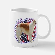 Borzoi Patriotic Mug