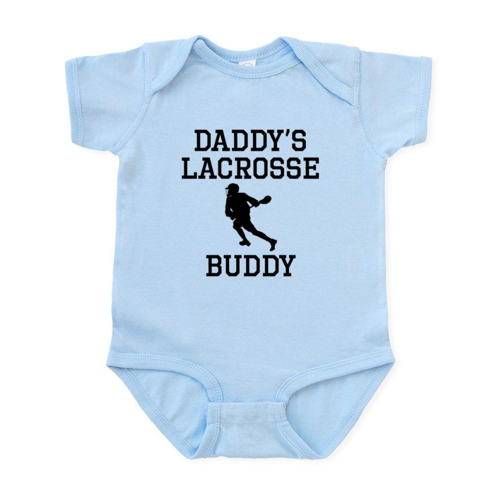 1232255486 CafePress Daddys Lacrosse Buddy Body Suit Baby Bodysuit
